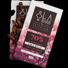 Chocolate 70% Cacau LaBarr Chocolate