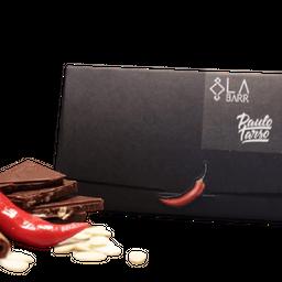 Chocolate 55% com Pimenta, Amêndoas Caramelizadas e Canela