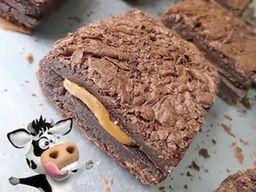Brownie Recheado Vaca Louca