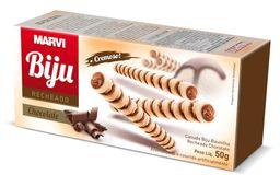 Biju recheado chocolate com avelã - 50g