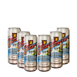 Pack Cerveja Colorado Ribeirão Lager 410 ml (x6)