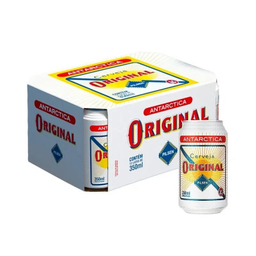 Pack Cerveja Antarctica Original 350 ml (x12)