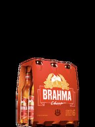 Pack Cerveja Brahma Chopp Pilsen 355 mL (x6)