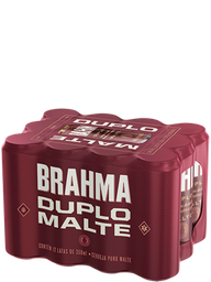 Pack Cerveja Brahma Duplo Malte 350 mL (x12)