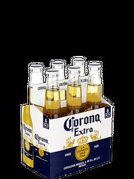 Pack Cerveja Corona Extra Long Neck 330 mL (x6)