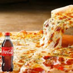 Combo Coca Cola + Pizza Grande a Moda
