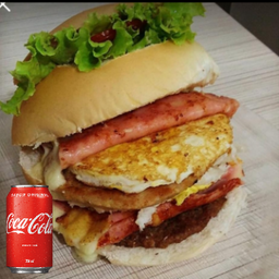 Combo 1 sanduiche buritis `+ 1 Coca