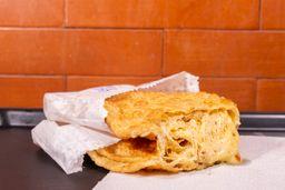 Pastel de Frango Cremoso, Queijo e Bacon