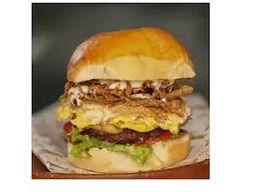 Chips egg burger