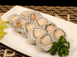 Uramaki de Salmão Empanado - 10 Peças