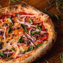 Pizza de Presunto e Azeitona - 30cm