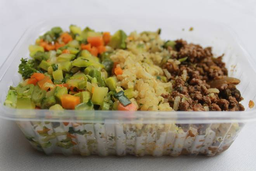 Carne Moída com Seleta de Legumes