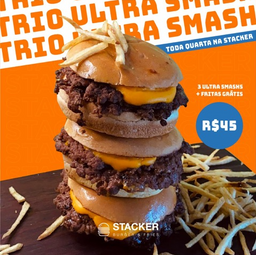 Trio Ultra Smash + Fritas