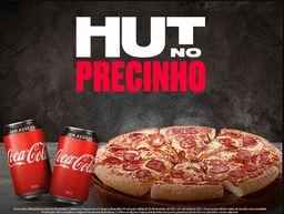 Hut no Precinho + Bebida - Média