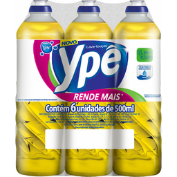 Ypê Kit Detergente Líquido Lava-Louça Neutro