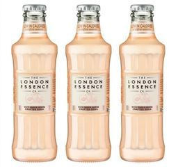 3x1 London Essence Rhubarb & Cardamom Craft Soda - 325448