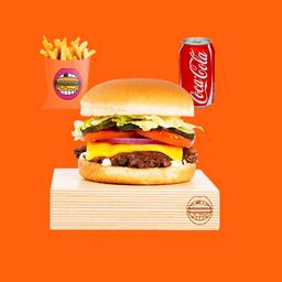 Combo Cheeseburger da Villa