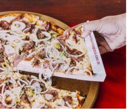 Combo Pizza de Calabresa Grande + Refri de 1L