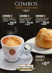 Misto Quente + Suco de Laranja + Café Expresso