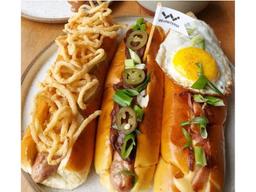 Trio de Hot Dog