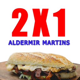 2x1 Aldemir Martins - 325707