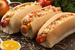 3 hot dog's de sua escolha por 49,90