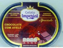 Sorvete Chocolate com avelã Gelato Imperial 145ml