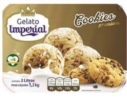 Sorvete Cookies Gelato Imperial 145ml
