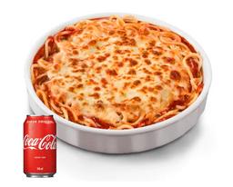 Combo Spaghetti À Bolonhesa Gratinado + 1 Refri 350ML