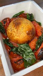 Burrata Assada
