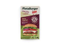 Burger Vegetal Grelhado - Páprica, Tomate e Alecrim Wessel
