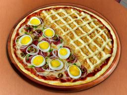 Pizza Meio a Meio - Média 30cm