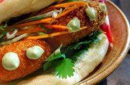 Banh Bao Viet Cajun (Carne de Siri)
