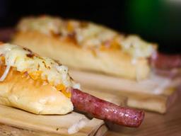 Combo 2 Sanduíches de Linguiça e Batata Frita