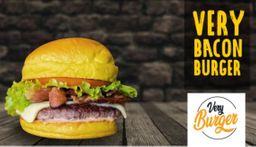 Very Bacon Burger + Fritas