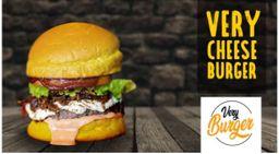 Very Cheese Burger + Fritas