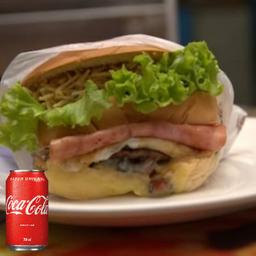 Combo Bauru + Coca Cola