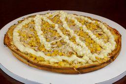 Pizza Caipira com Catupiry