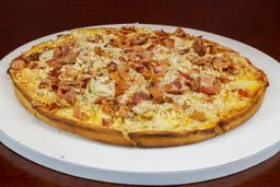 Pizza de Frango com Bacon
