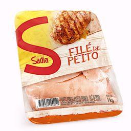 Sadia Filé De Peito De Frango Congelado Bandeja