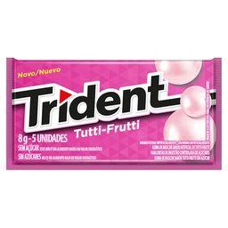 Compre 3 Ganhe 20% Trident Goma De Mascar Tutti Frutti Bag 32 G
