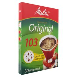 Melitta Filtro De Papel Original 103 Com 30 Und