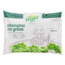 Veggie Soja Verde Edamame Grãos