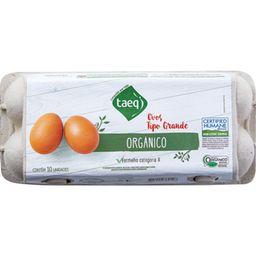 Taeq Ovos Vermelho Grandes Orgânicos