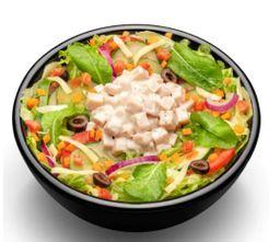 Salada Carne Defumada Com Cream Cheese