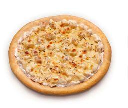 PIZZA FRANGO DEFUMADO COM CREAM CHEESE