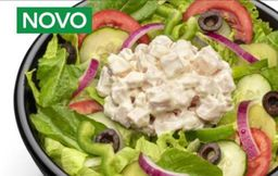 Salada Carne Defumada com Cream Cheese