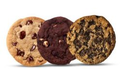 Kit com 3 cookies