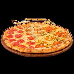 Pizza Grande Meio a Meio - 8 Fatias