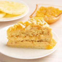 Fatia de Torta de Delícia de Abacaxi - 150g